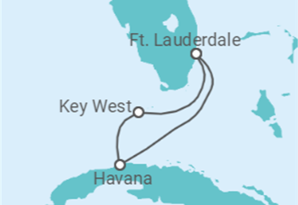 Cruzeiro Mini de Miami a Cuba: 9 dias a bordo do Majesty of the Seas - Partida de Fort Lauderdale