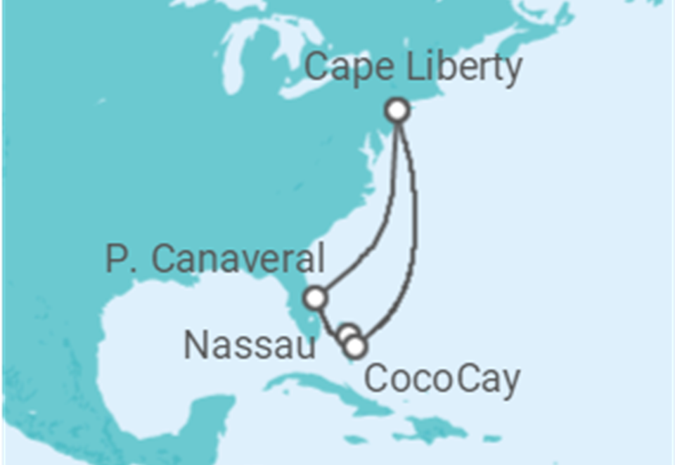 Cruzeiro De Nova York às Caraíbas: 10 dias a bordo do Anthem of the Seas - Partida de Nova Iorque - Cape Liberty