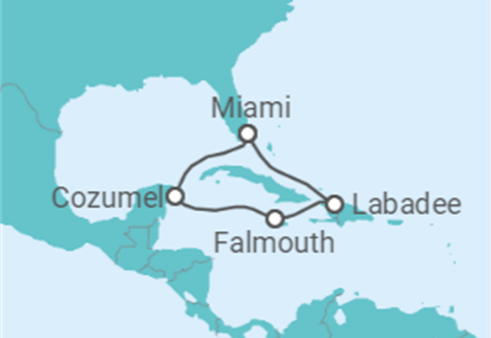 Cruzeiro Sabores das Caraíbas + Miami: 10 dias a bordo do Oasis of the Seas - Partida de Miami